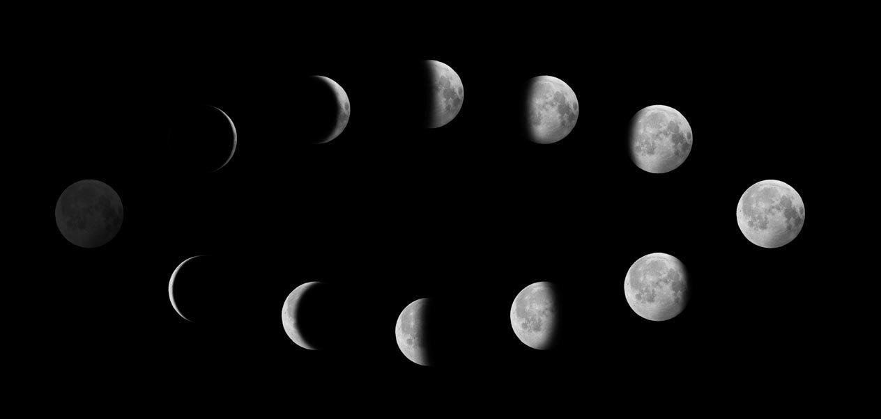 картинка новолуние рост луны часто классифицируются родимые